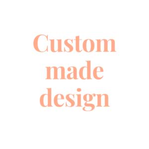 Custom made design Basic Wedding Rings