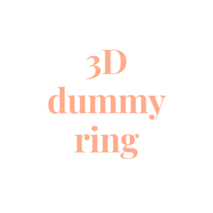 3D dummy ring